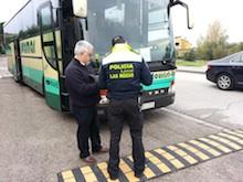 Campaña control transporte escolar
