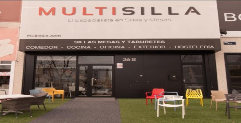 Taburetes y sillas en Multisilla