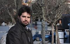El Portavoz de I.U Las Rozas, Gonzalo Sanchez Toscano