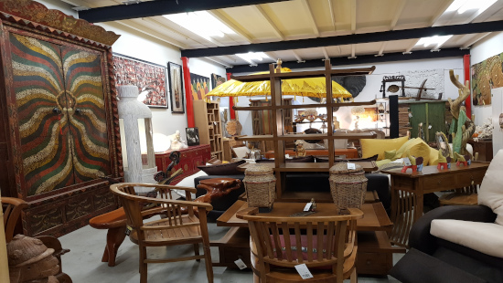 Muebles de madera en Asia